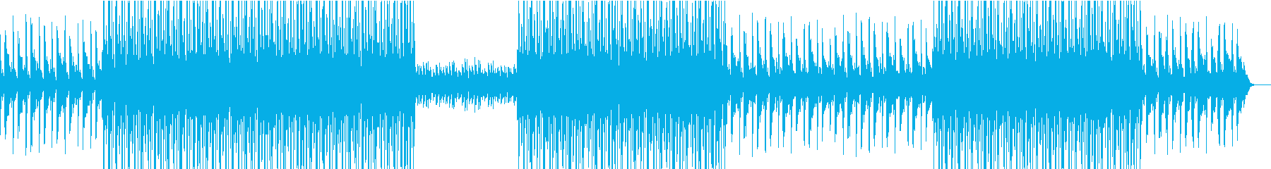 哀愁のある切ないHIPHOPトラックの再生済みの波形