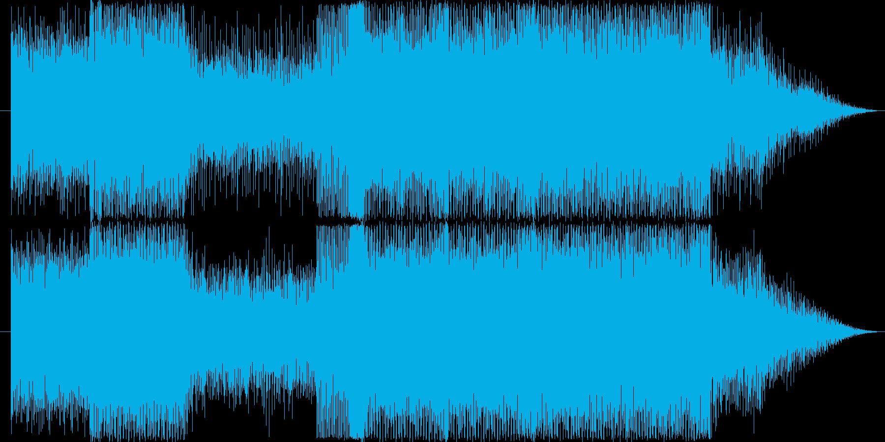 テクノ系サウンドとなっております。様々…の再生済みの波形