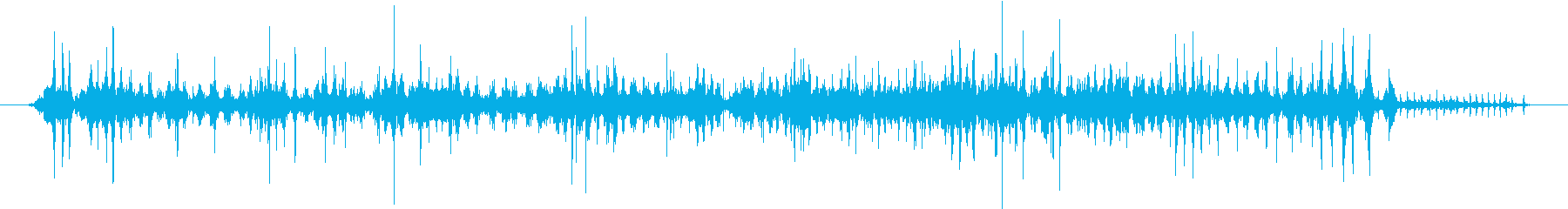 電気現金請求カウンターマシン:15...の再生済みの波形