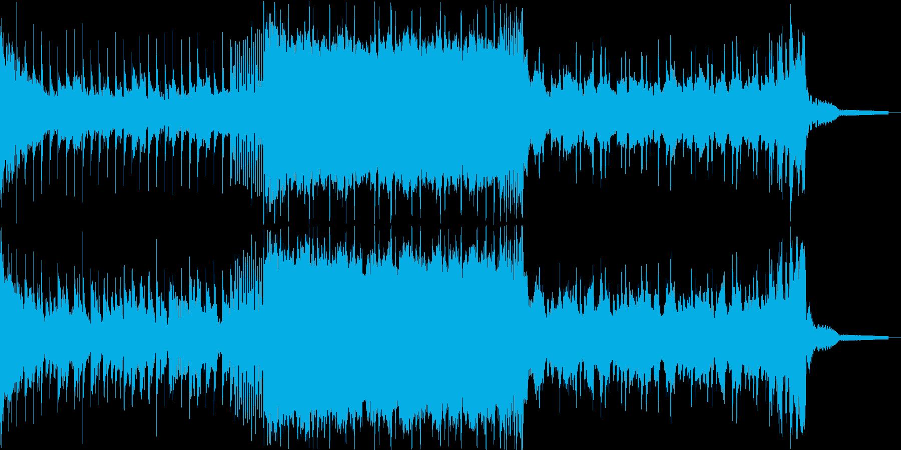 自分を信じる逞しいBGMの再生済みの波形