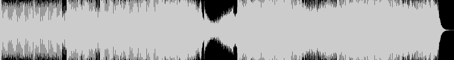【トランス】エネルギッシュさ・高揚感の未再生の波形