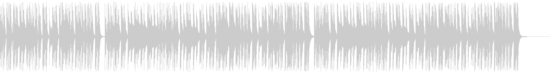 【ドラム・ベース抜き】ほのぼのゆったり…の未再生の波形
