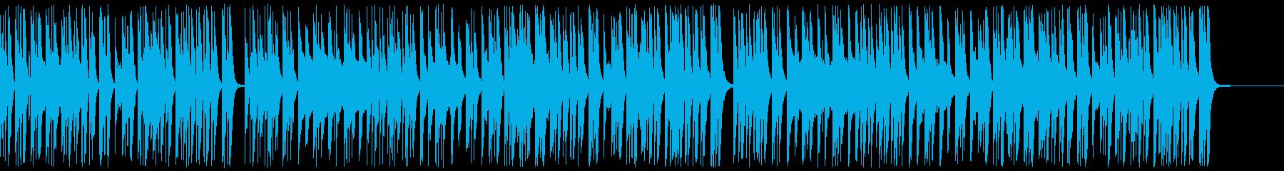 【ドラム・ベース抜き】ほのぼのゆったり…の再生済みの波形