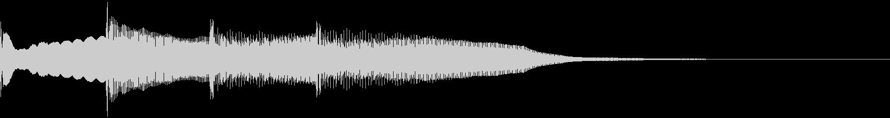 【放送】ピンポンパンポーン↓の未再生の波形
