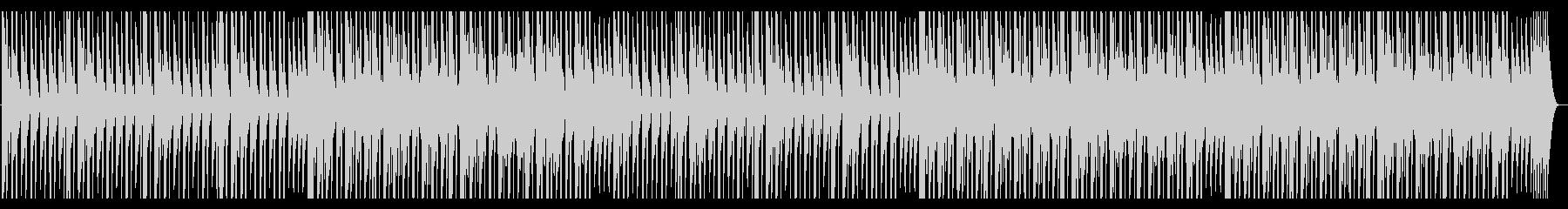大人しくシンプルなテクノの未再生の波形
