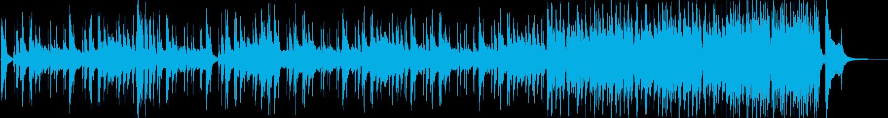 クイズ用カウントダウン音源の再生済みの波形