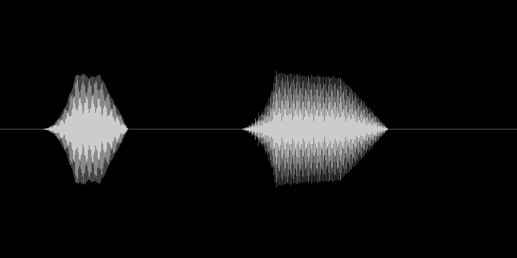 ファミコン風効果音 キャンセル系 17の未再生の波形