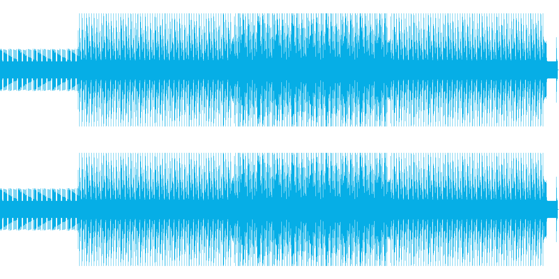 ダンス。モノコード。の再生済みの波形