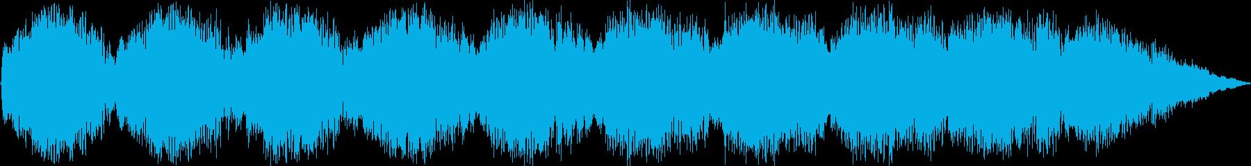 コンピューター室の主要な機能不全警...の再生済みの波形