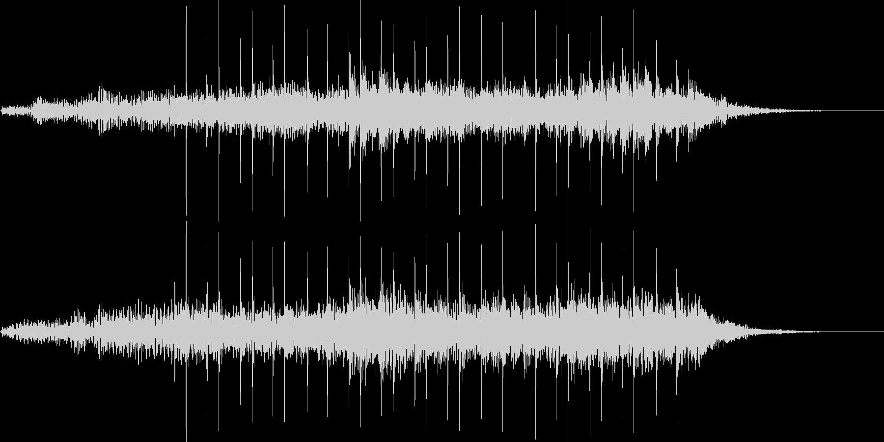 企業・サウンドロゴ・アイキャッチ9の未再生の波形