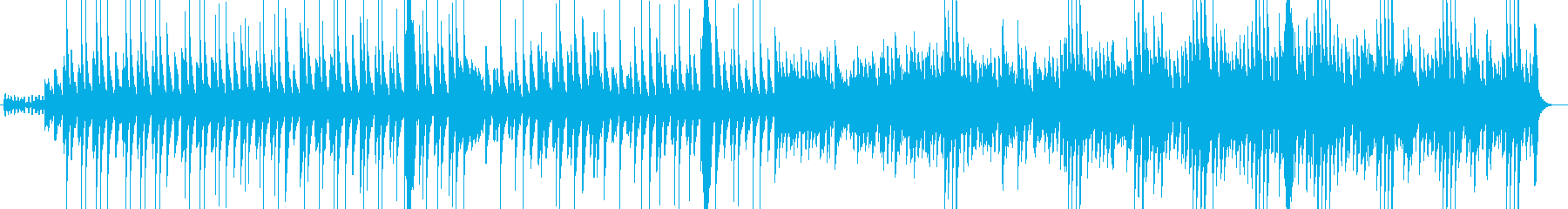 入眠時のリラックスマリンバの再生済みの波形