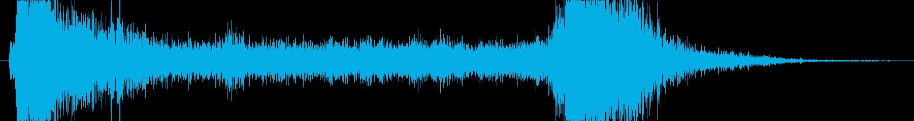 トランジション プロモーションパッド01の再生済みの波形