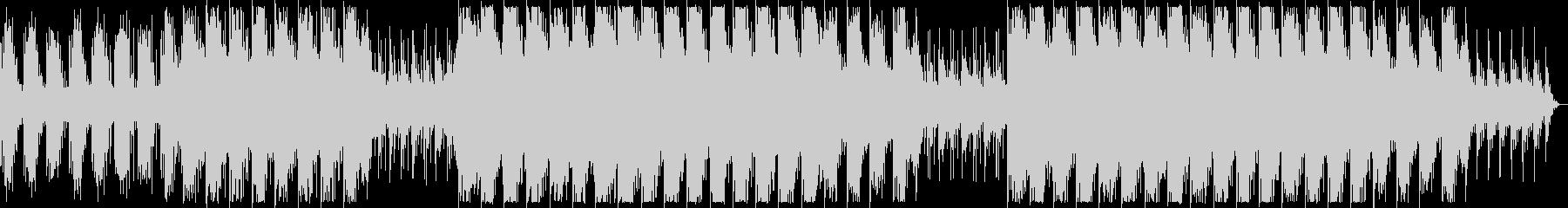 幻想的でダークなBGM ロングの未再生の波形