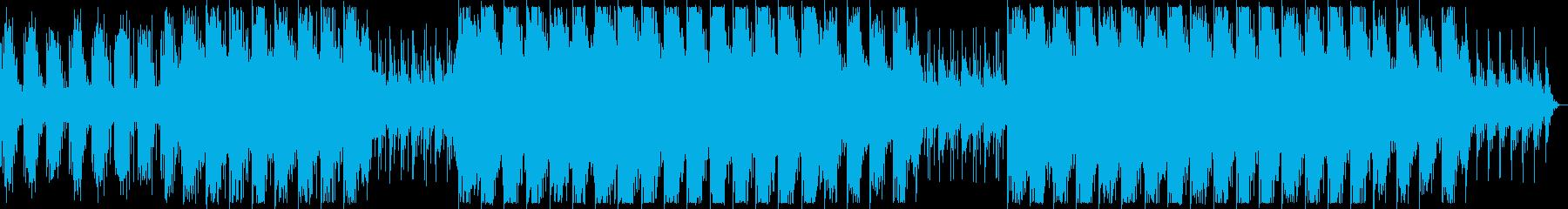 幻想的でダークなBGM ロングの再生済みの波形