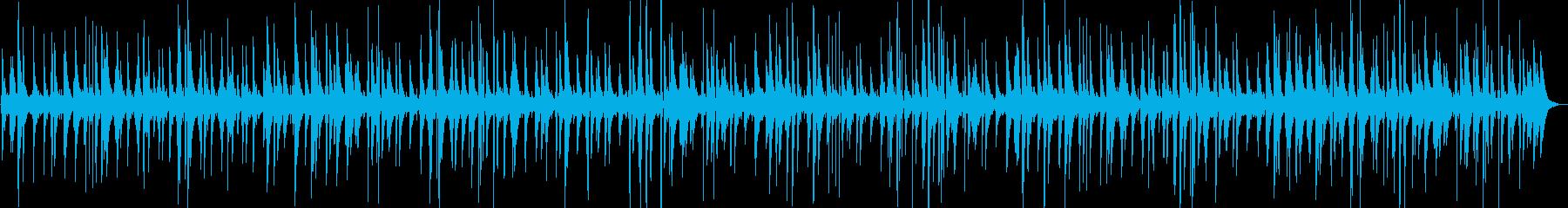 心地よいリラックスジャズ音楽ピアノの再生済みの波形
