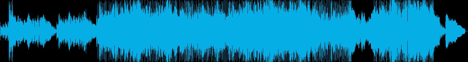 キラキラした印象の明るいバラード2の再生済みの波形