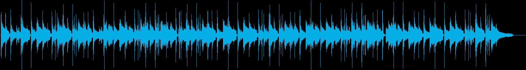 チルアウト ジャズBGM トーク動画にの再生済みの波形