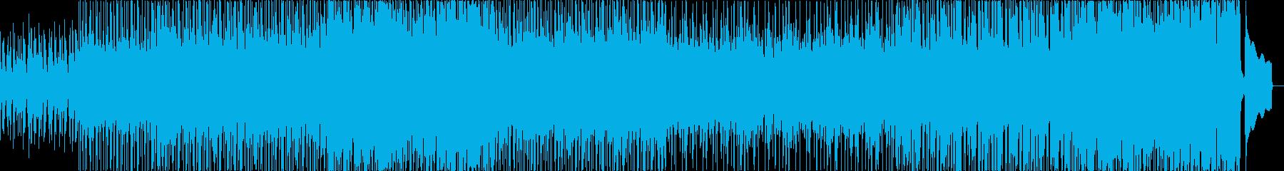 ウクレレ、アップテンポ、日常系BGMの再生済みの波形
