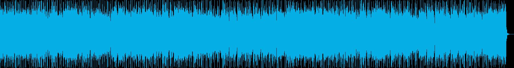 緊張感漂うハードロックの再生済みの波形