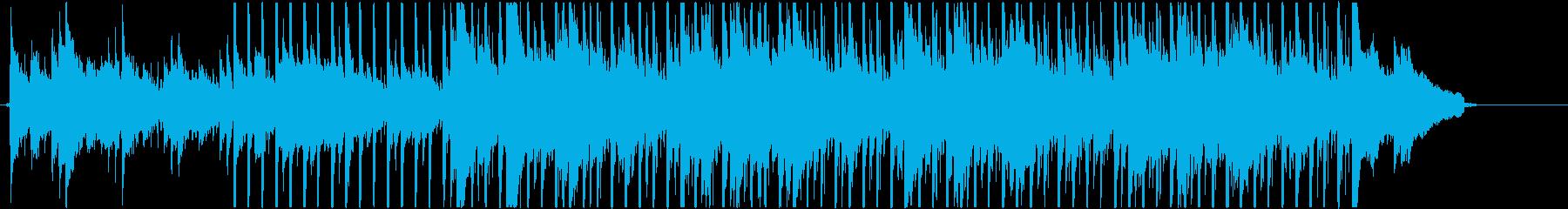 アコースティックギター主導まったりポップの再生済みの波形