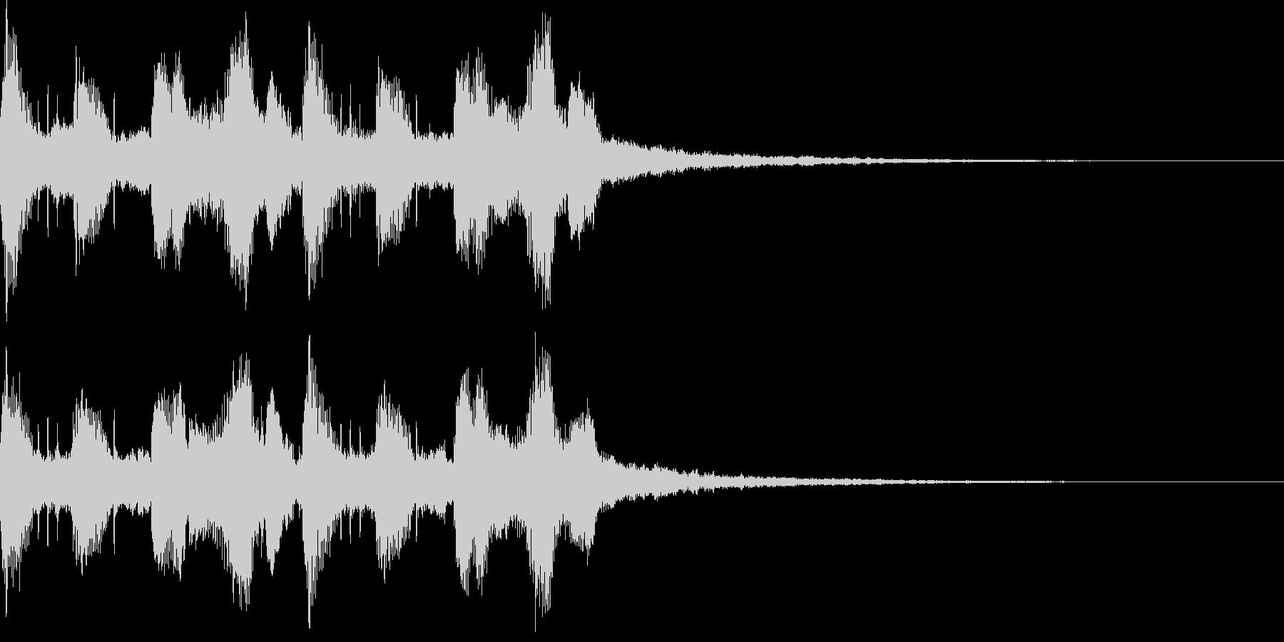 モダン・最先端・EDMジングル5の未再生の波形