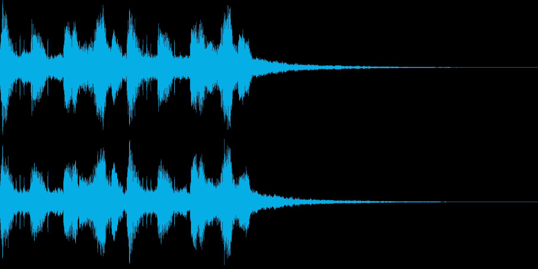 モダン・最先端・EDMジングル5の再生済みの波形