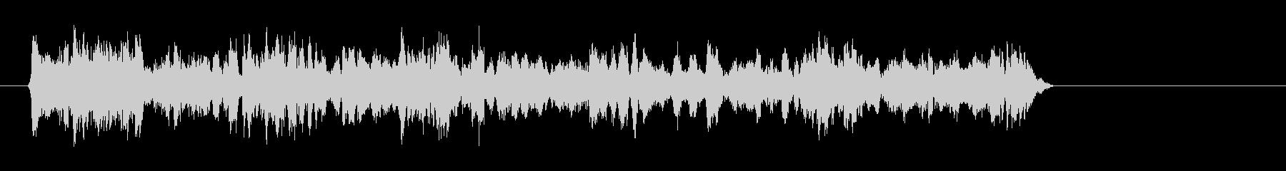トランペット-ジャズソロの未再生の波形