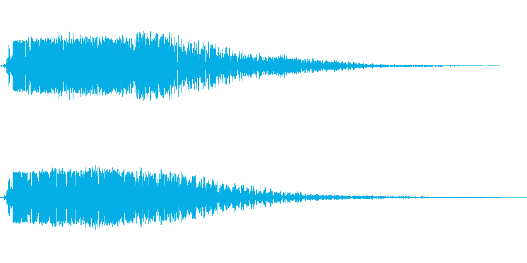 小キック(ローキック)の再生済みの波形
