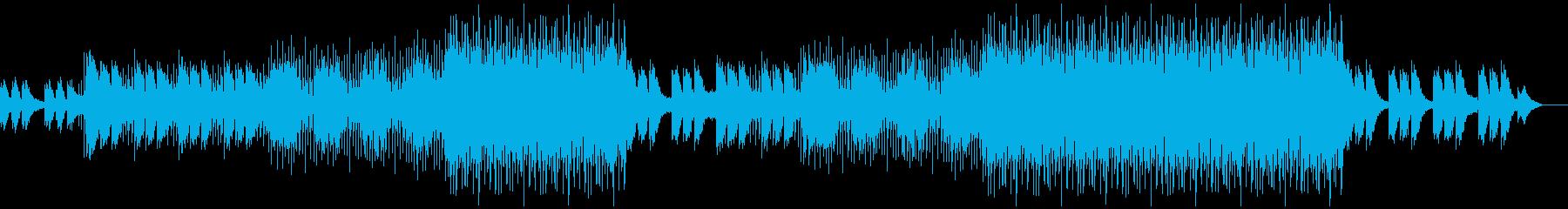 洋楽ポップス2の再生済みの波形
