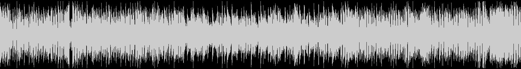 ひょうきんで元気なリコーダー曲※ループ版の未再生の波形