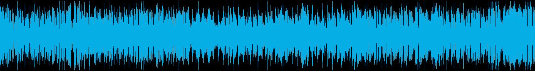 ひょうきんで元気なリコーダー曲※ループ版の再生済みの波形
