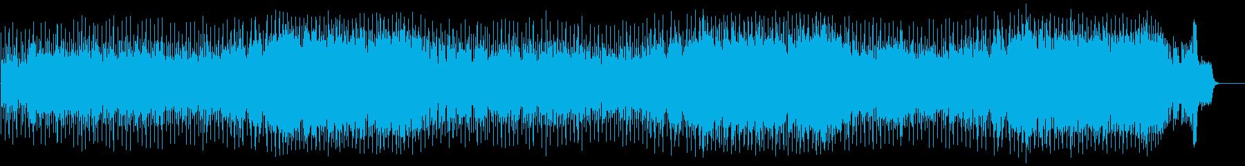 楽しく軽快なポップ(フルサイズ)の再生済みの波形