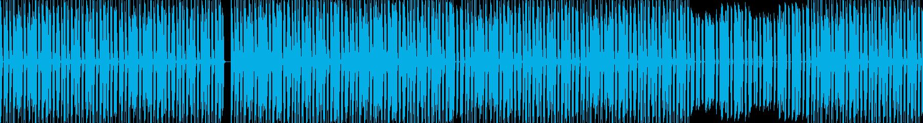 かわいくて明るい感じの優しいビートの再生済みの波形