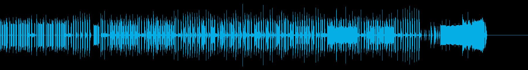ノリノリチップチューンスウィング♪の再生済みの波形