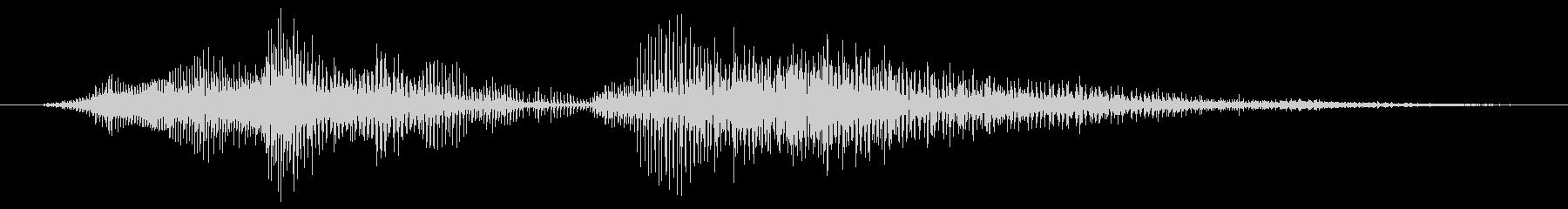 モンスター ダイハイ07の未再生の波形