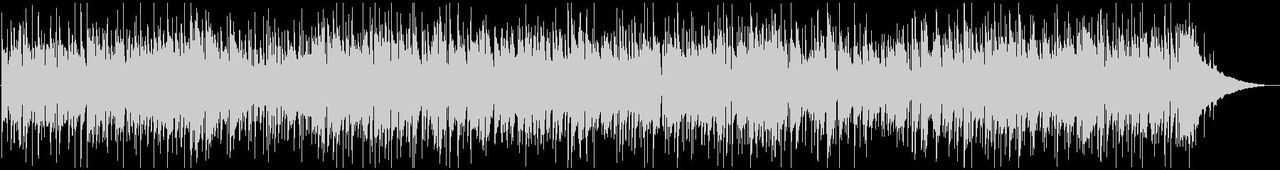 可愛いピアノソロのBGMの未再生の波形