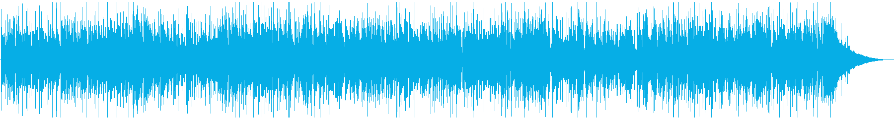 可愛いピアノソロのBGMの再生済みの波形