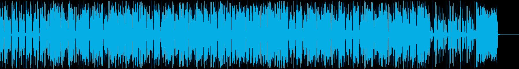 コミカル/昭和/ドラマ/オープニングの再生済みの波形