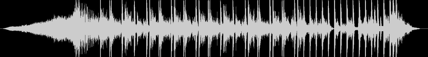 インパクトのあるCMに最適なテクスチャ曲の未再生の波形