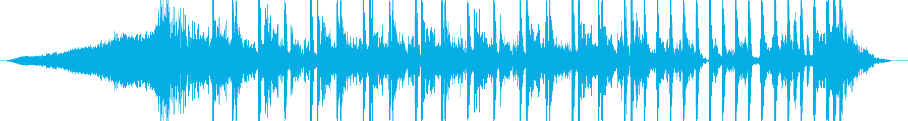 インパクトのあるCMに最適なテクスチャ曲の再生済みの波形