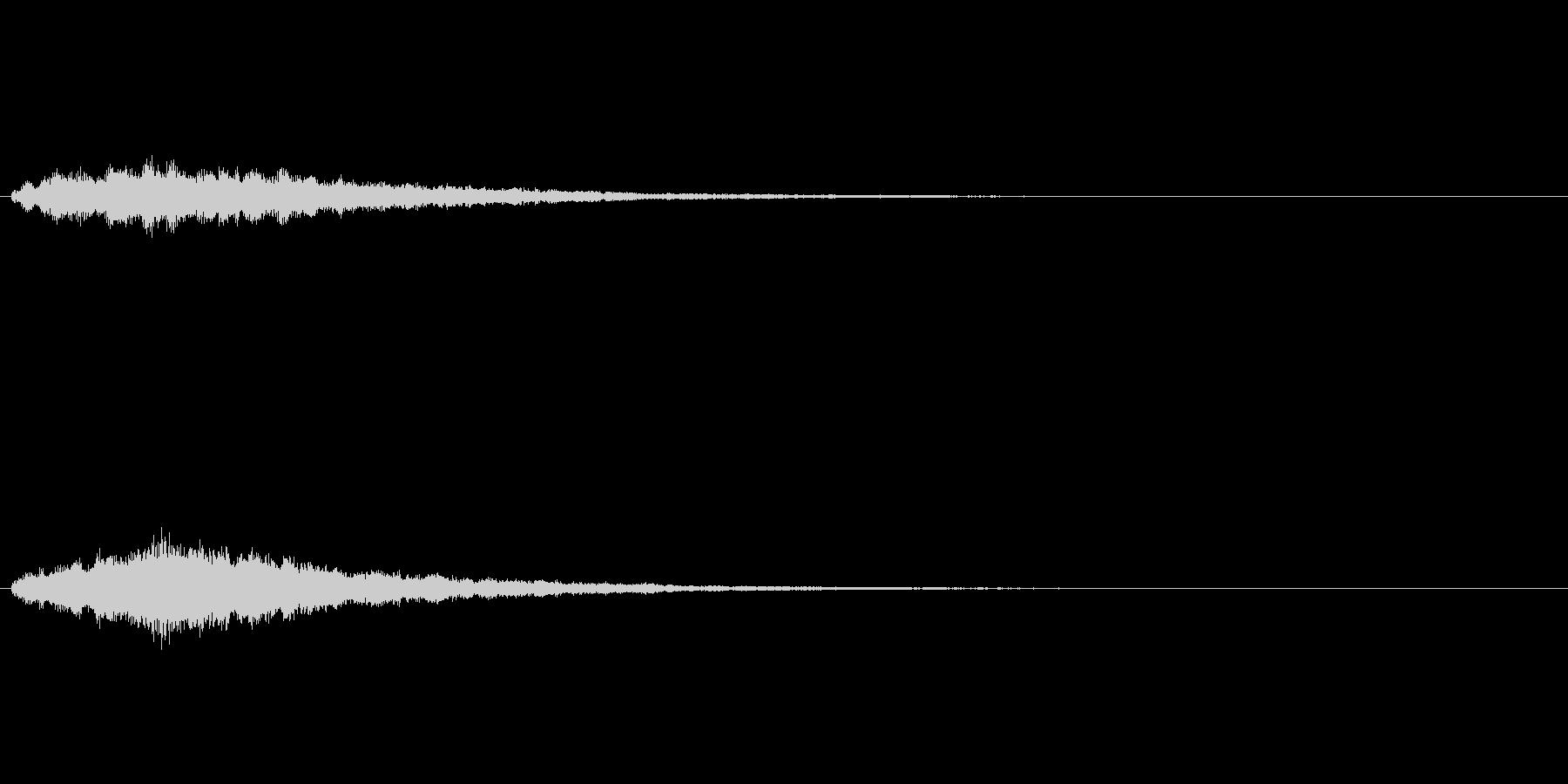 きらめきSE セーブ システムの未再生の波形