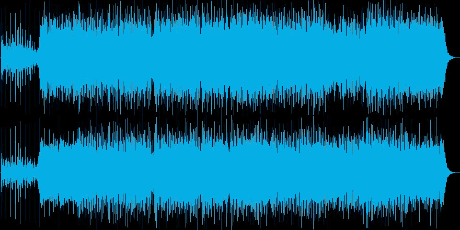 胸がきゅっとする、懐かしい曲調のポップスの再生済みの波形