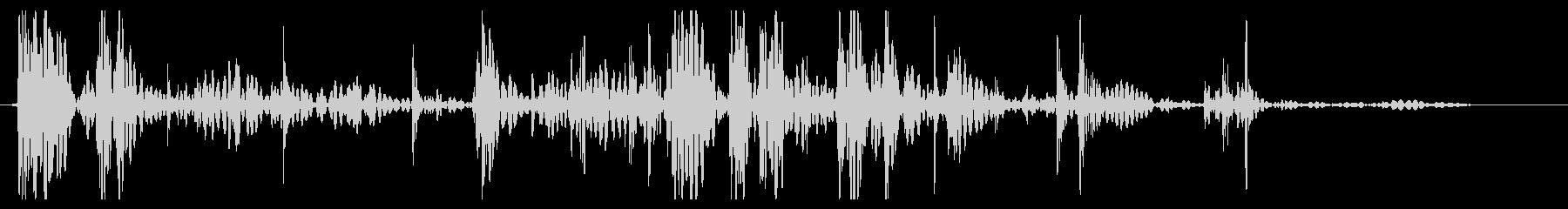 ミディアムボールダー:ロールオフパ...の未再生の波形