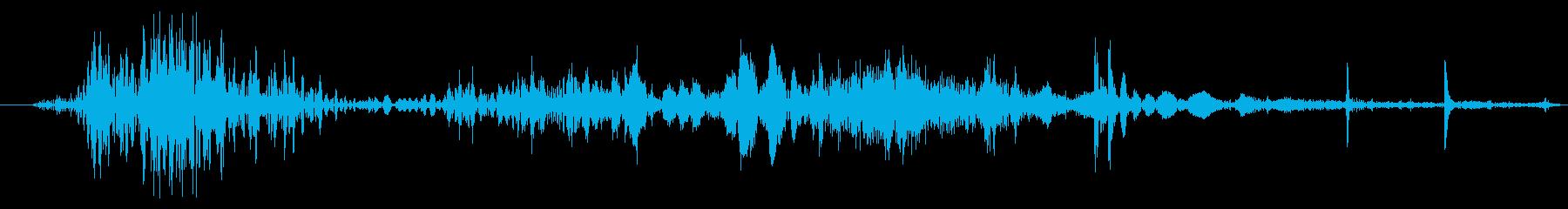 スパイダー モンスター タップ 通常の再生済みの波形
