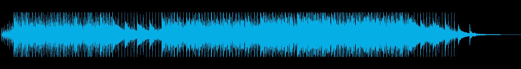 透明感のある元気なコーポレート90秒CMの再生済みの波形