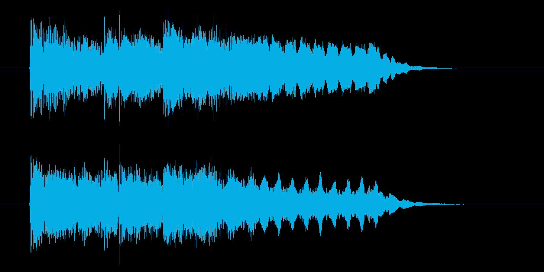 伸びやかなフルートが印象的なBGMの再生済みの波形