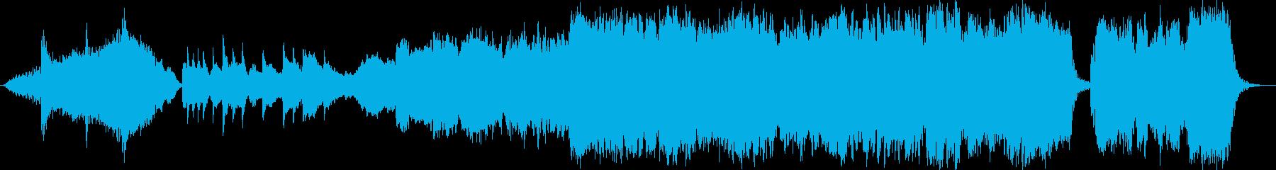 ピアノと生演奏尺八 感動のエンディングの再生済みの波形