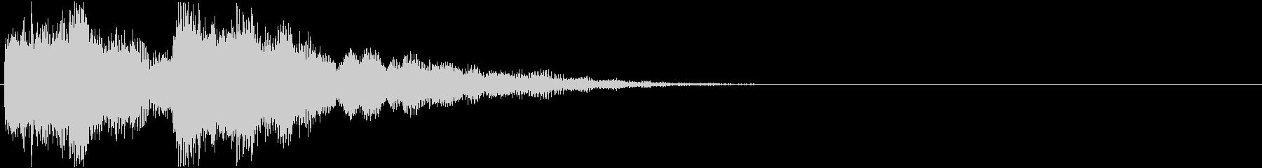 ゲーム:魔法をかける音bの未再生の波形