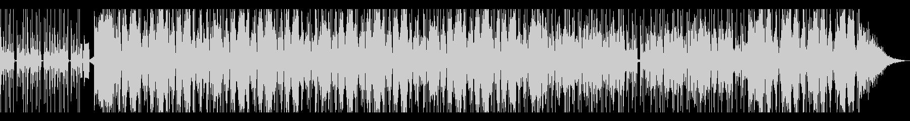 ドキドキ 焦る音の未再生の波形