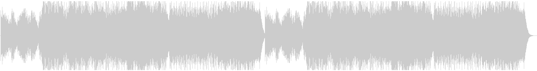 幻想的なヒーリングの未再生の波形